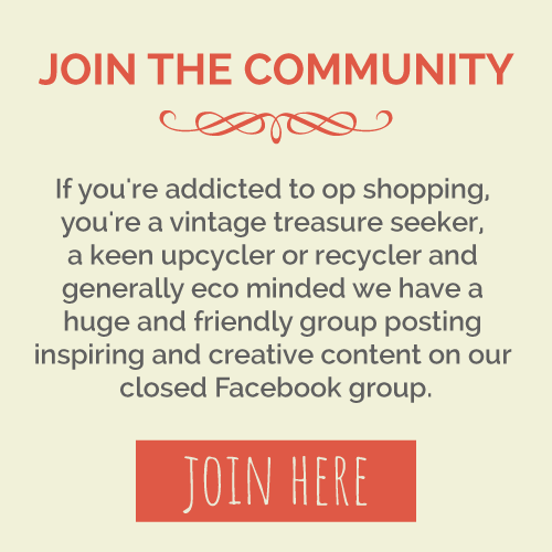 Join the I Love to Op Shop Facebook community