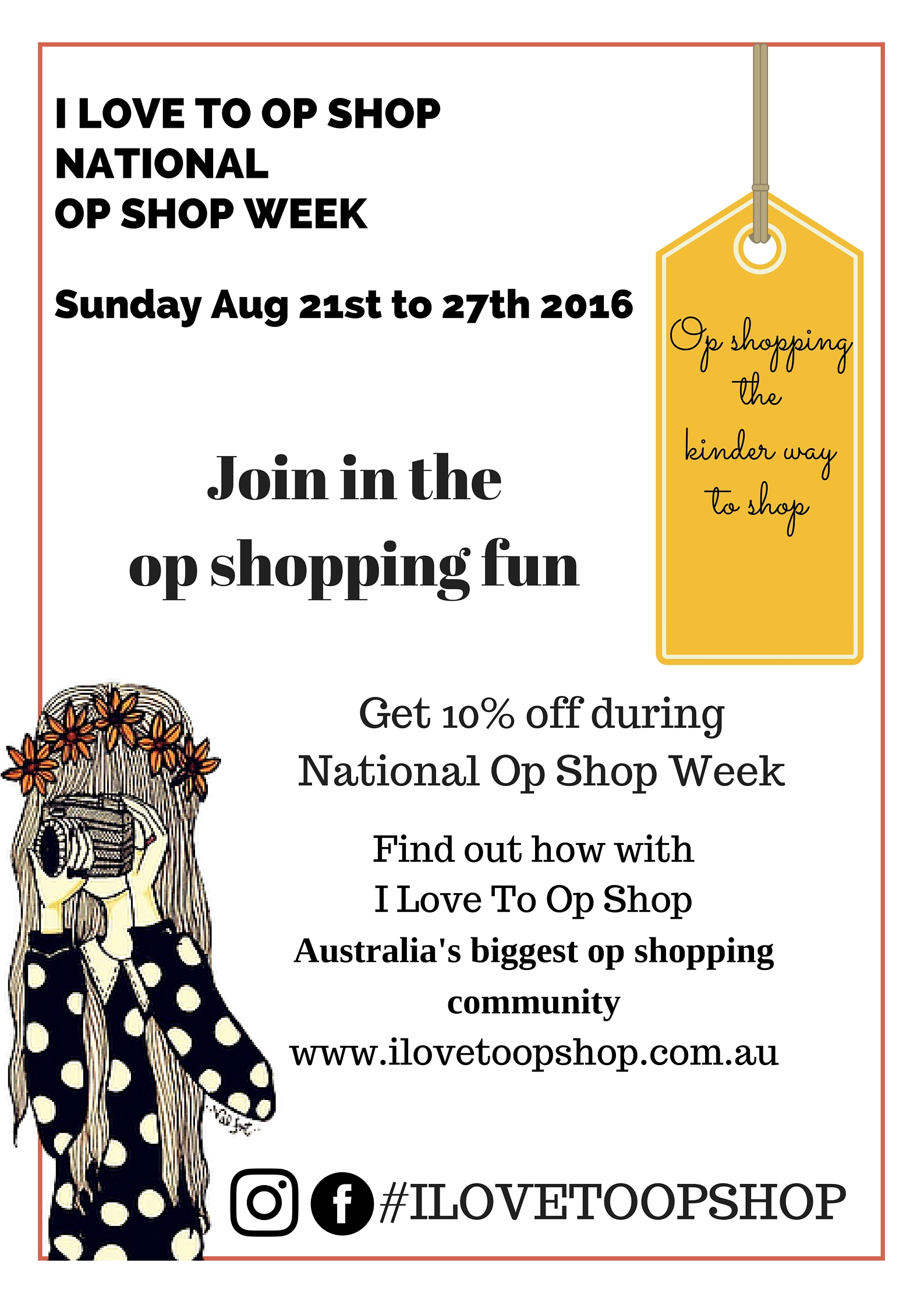Brace Yourselves National Op Shop Week 2016 is Coming!