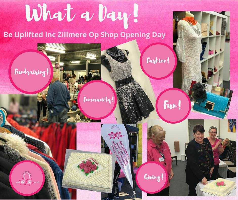 Be Uplifted Op Shop Zillmere